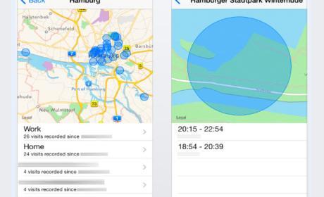 Captura de pantalla Frequent Locations