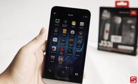 BlackBerry Z30, vídeo HD