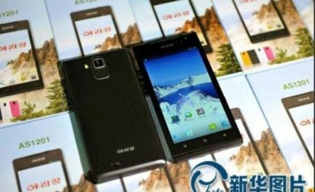 Arirang AS1201, el smartphone norcoreano