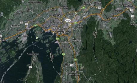 Apple vetada de tomar fotos aéreas de Oslo para sus mapas 3D