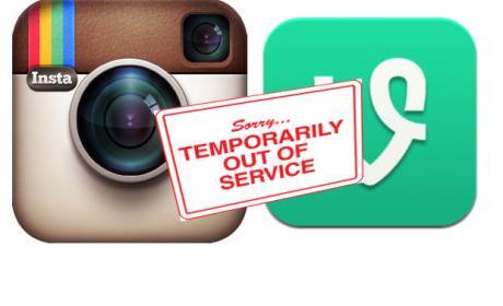 Logo de Instagram y Vine