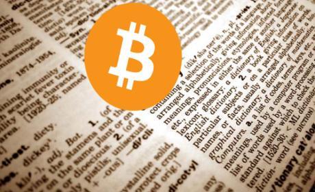Bitcoin en diccionario