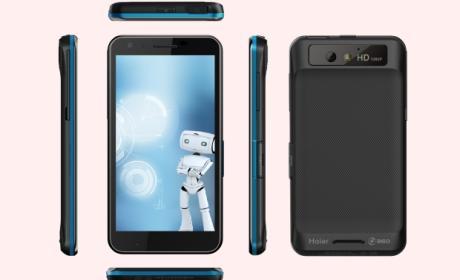 Haier presenta seis nuevos smartphones y un router 3G en IFA 2013