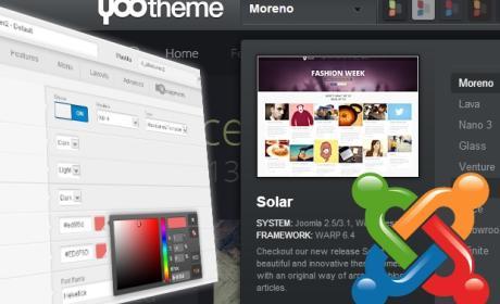 Escoge un tema para Joomla y cambia el diseño de tu web