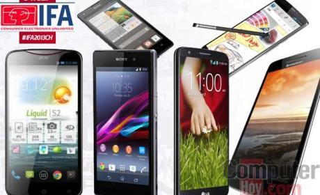 Móviles del IFA 2013