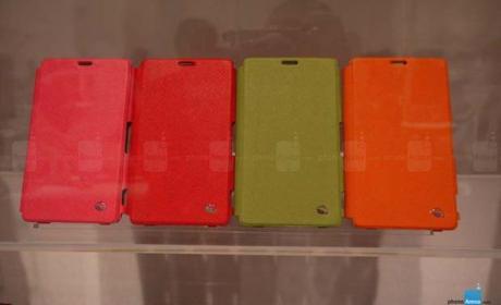 Carcasas del Sony Xperia Z1 avistadas en el IFA 2013