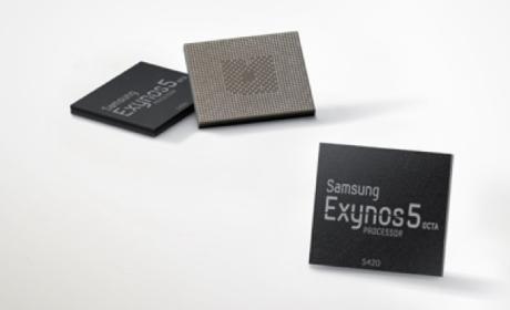 Samsung realiza mejoras al procesador Exynos 5 octa