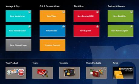 Presentación de Nero 2014, ideal para contenidos multimedia