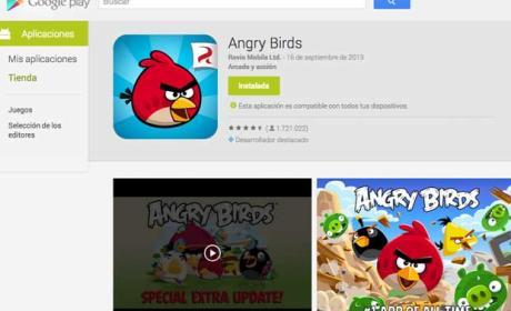 Angry Birds Original se actualiza con nuevos niveles