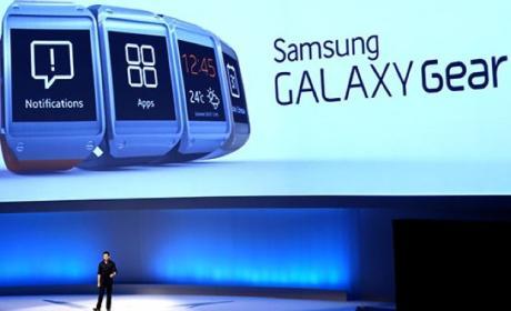 Presentación Samsung Galaxy Gear en IFA 2013