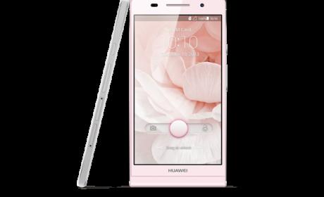 Huawei Ascen P6 en color rosa en exclusiva con Orange