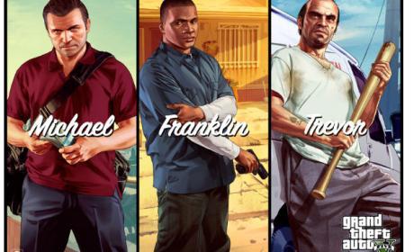 Personajes principales Grand Theft Auto 5