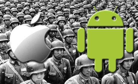 Guerra fechas lanzamiento Google Apple
