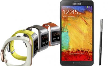 Samsung Galaxy Note 3 y Galaxy Gear