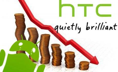HTC incurre en pérdidas por primera vez