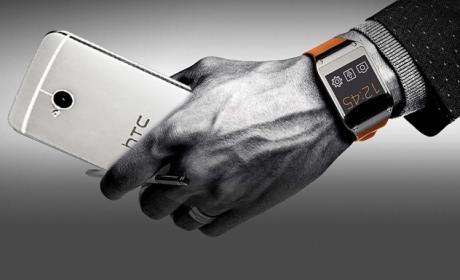 Samsung Galaxy Gear podría funcionar con el HTC One