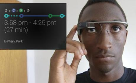 Google Glass ahora con direcciones de tránsito