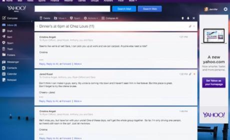 Yahoo introduce cambios en servicio de correo electrónico