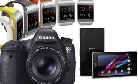 Smartphones, tablets y cámaras réflex copan la electrónica