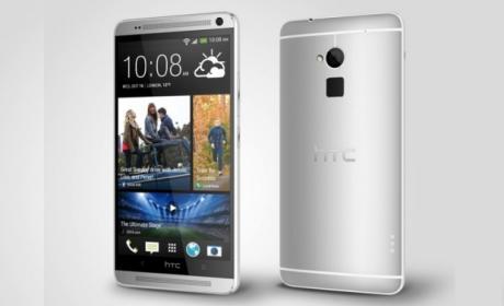 HTC One Max con lector de huellas, presentación oficial