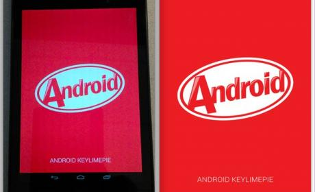 Capturas de pantalla de Android 4.4. KitKat