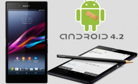 Sony actualiza Android OS en Xperia Z1 y Z Ultra