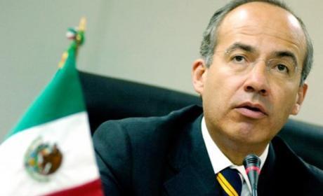 El ex-presidente de México, Felipe Calderón, supuestamente fue espiado por la NSA cuando estaba en el cargo