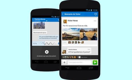 Tuenti estrena los mensajes de voz en su app para Android
