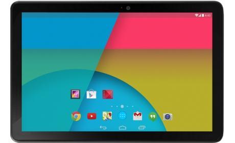 Supuestas características oficiales de la nueva tablet Nexus 10 2013