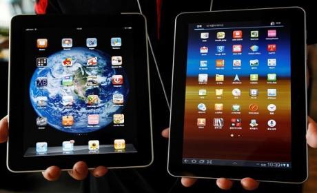 Samsung supera a Apple en satisfacción sobre sus tabletas