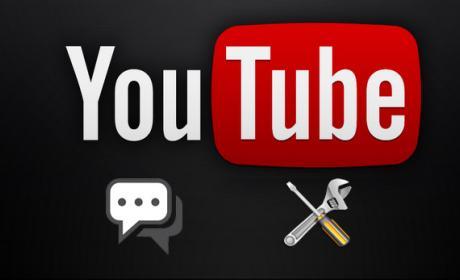 Modificar los comentarios en Youtube