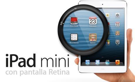 iPad mini pantalla retina