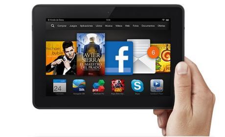 Kindle Fire HDX 7, ya en stock en España