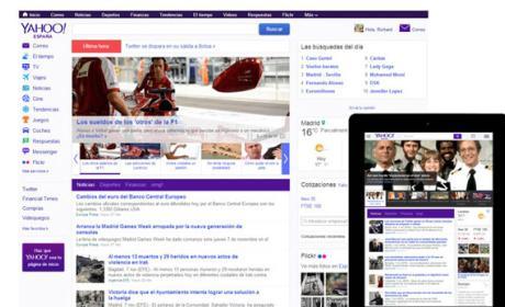 Yahoo! España cumple 15 años y lo celebra con nueva portada