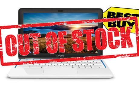 Best Buy deja de vender HP Chromebook 11