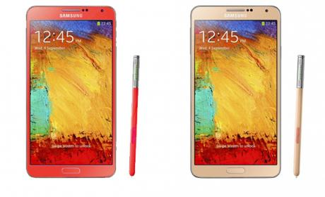 galaxy note 3 colores