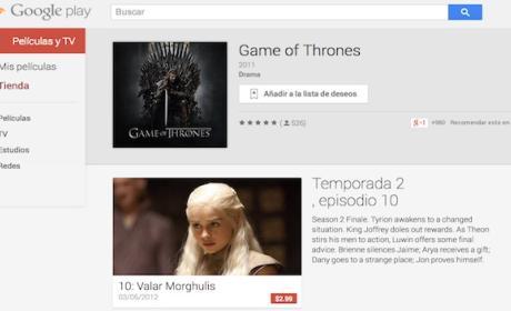 Descarga tus series de HBO en Google Play