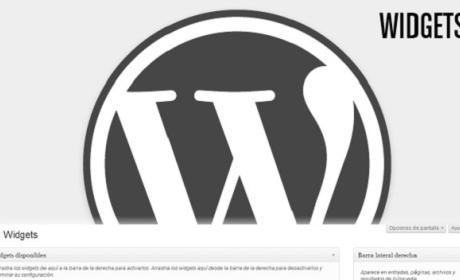 Curso de WordPress: Qué son los widgets y cómo se instalan