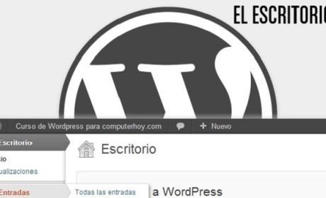 Curso de WordPress: Descubre el Escritorio