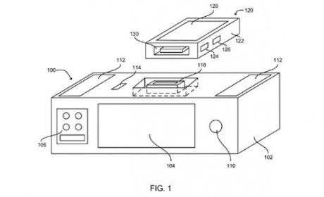 Diseño patente de nuevo dock para Siri