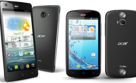 Nuevos smartphones Acer