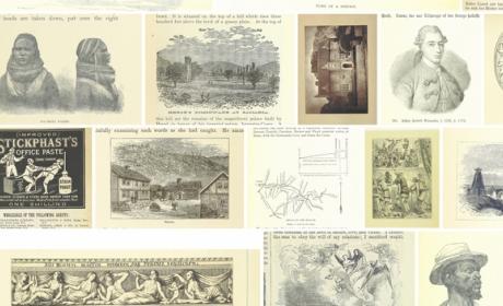 La Biblioteca Británica ofrece más de un millón de grabados, ilustraciones y fotos a través de Flickr.