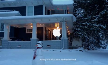Apple estrena anuncio navideño con el iPhone 5S y AirPlay