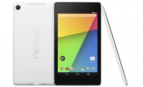 Nexus 7 en color blanco, la nueva tablet de ASUS y Google