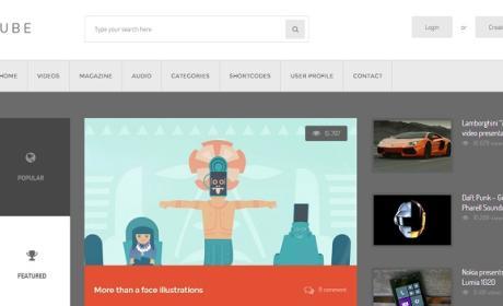 Las 10 mejores plantillas de WordPress para multimedia