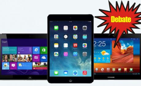 ¿Qué tablet prefieres? ¿iPad, Android o Windows Phone?