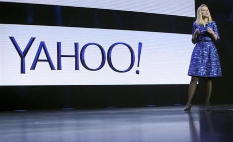 Marissa Mayer, CEO de Yahoo, en CES
