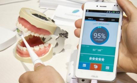 Kolibree, el cepillo de dientes inteligente que te dice donde hay que limpiar