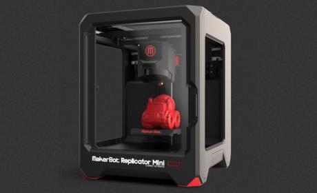 MarkerBot Replicator Mini, la impresora 3D de bolsillo
