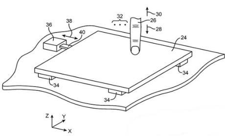 Apple patentiza nuevo trackpad con sensores de fuerza y retroalimentación